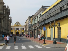 Plaza Mayor - side street