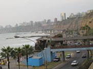Lima from the coast