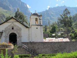 the church in Tapay