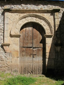 church door in Tapay