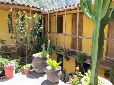 Ollantaytambo - our hostal