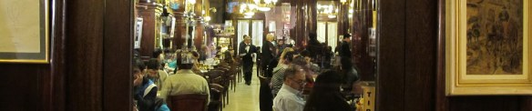 Cafe Tortoni - oldest coffeehouse in Argentina