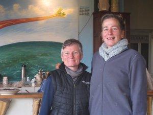 Nadine and Susanne